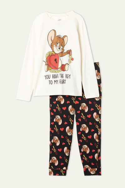 Pijama Comprido Estampado Tom and Jerry