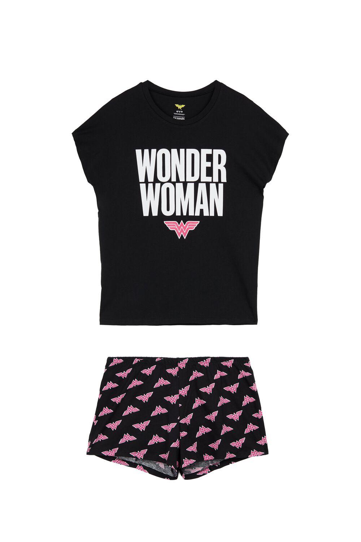 Pyjama Court Wonder Woman