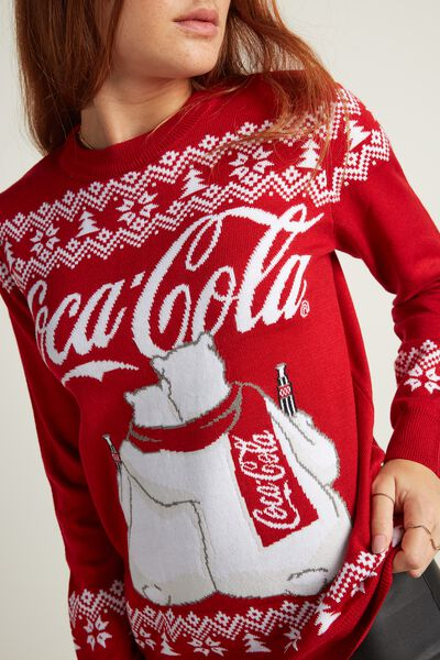 Long Sleeve Coca Cola Top