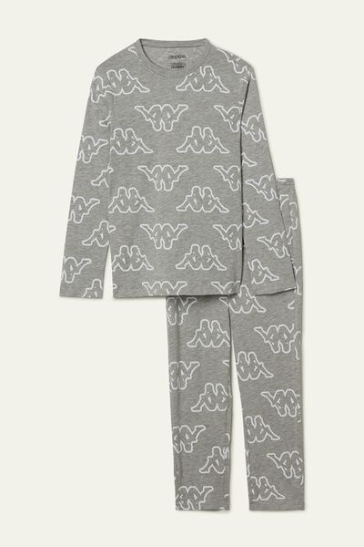 Girl's Kappa Long Lightweight Cotton Pyjamas