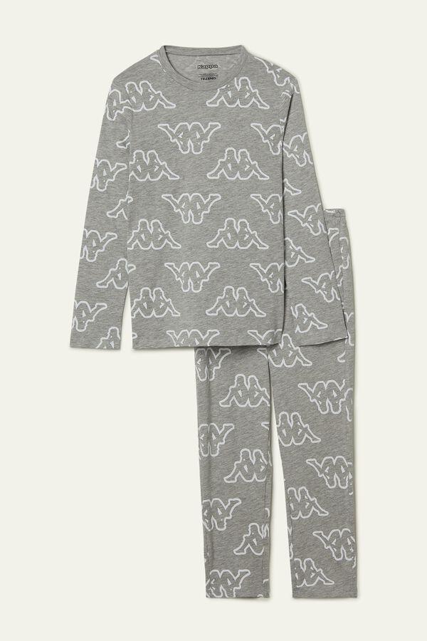 Girl's Kappa Long Lightweight Cotton Pyjamas