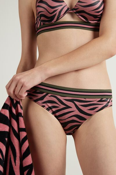 Summer Tiger Brief Bikini
