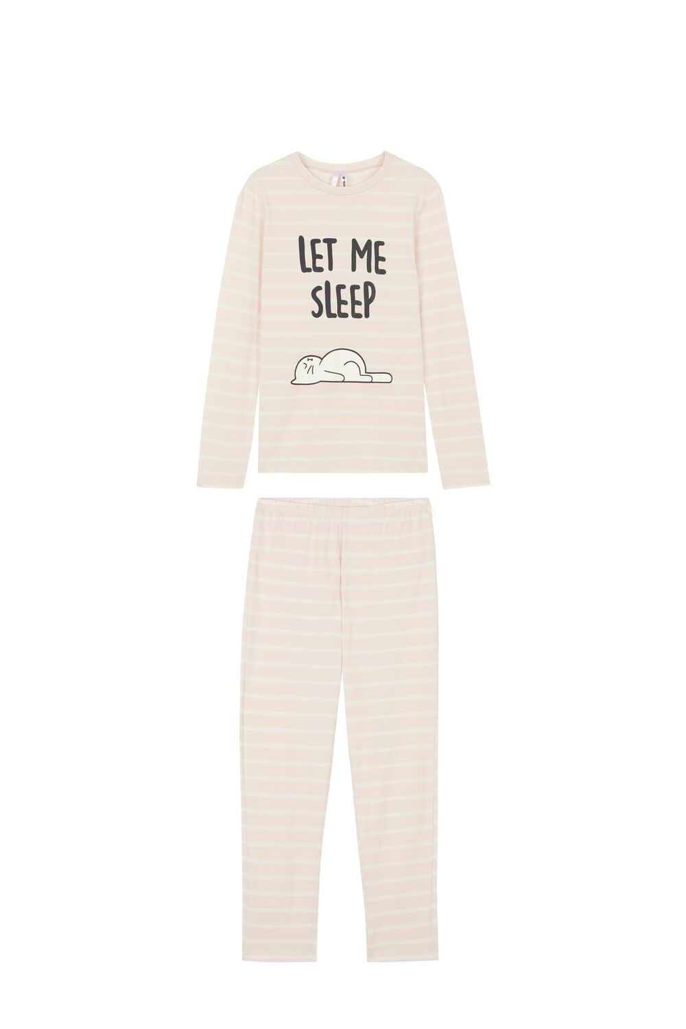Long 'Let Me Sleep' Pyjamas