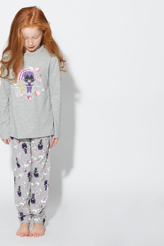 Pyjama Long Teen Titans Raven