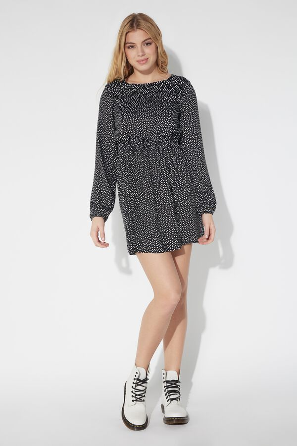 Long Sleeve Dress with Laces