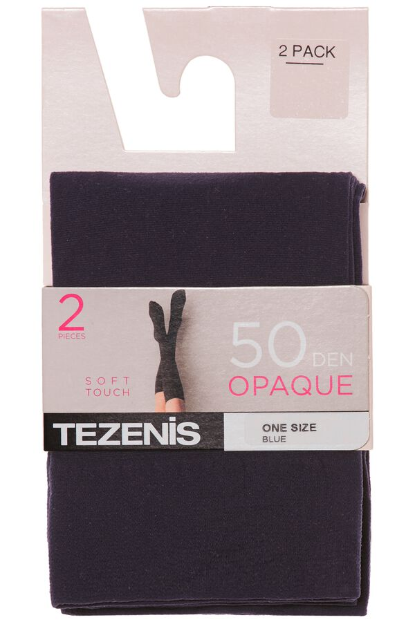 2 X 50 Den Microfiber Knee-Highs