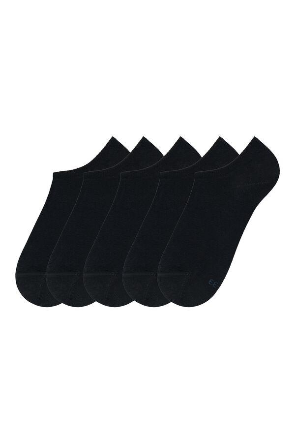 5 X Chaussettes Invisibles en Coton