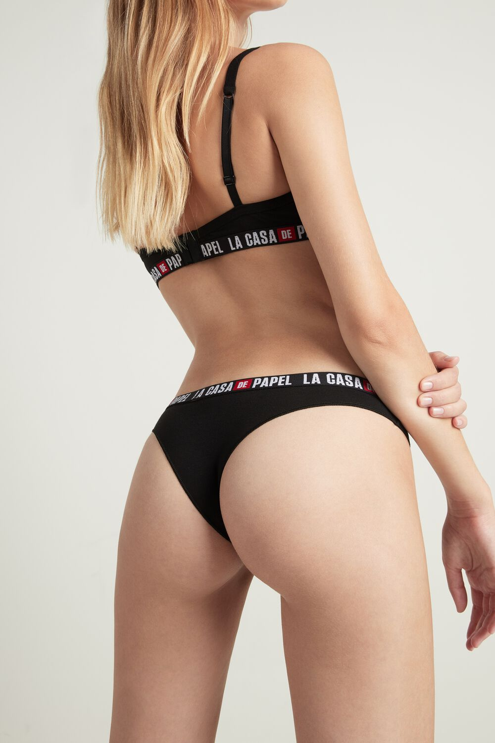 """La casa de papel"" Cotton Brazilian Briefs"