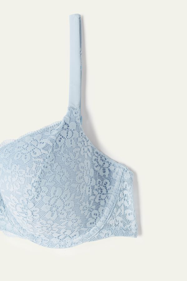 Prague Full Cover Recycled Lace Balconette Bra