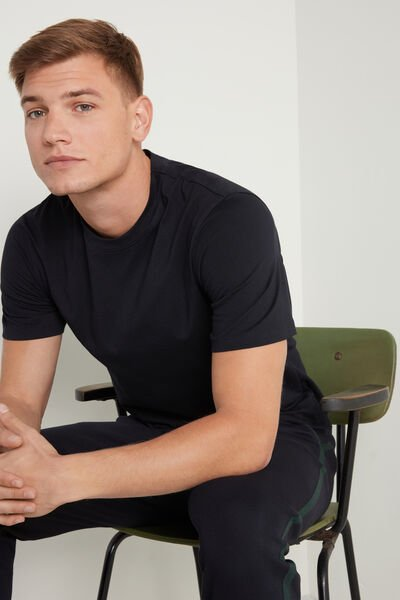 Basic Relaxed-Fit Cotton T-Shirt