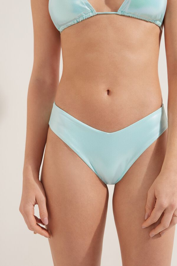Bikini Slip Sgambato Glossy
