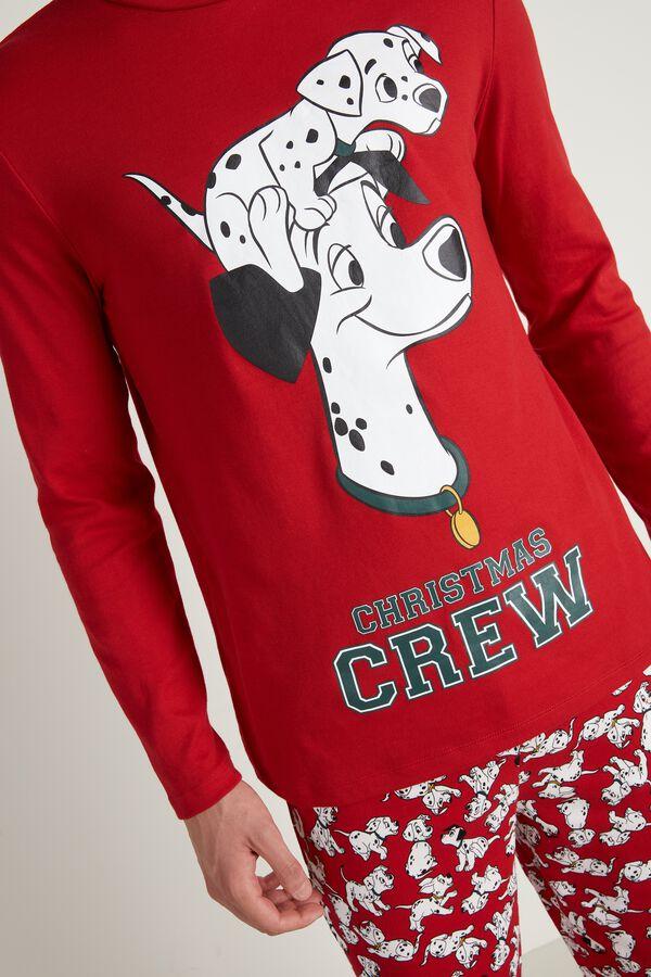 Men's Long Cotton Disney 101 Dalmatians Pajamas