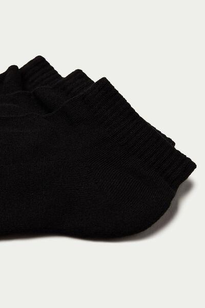 Neviditeľné Bavlnené Športové Ponožky, 3 Páry