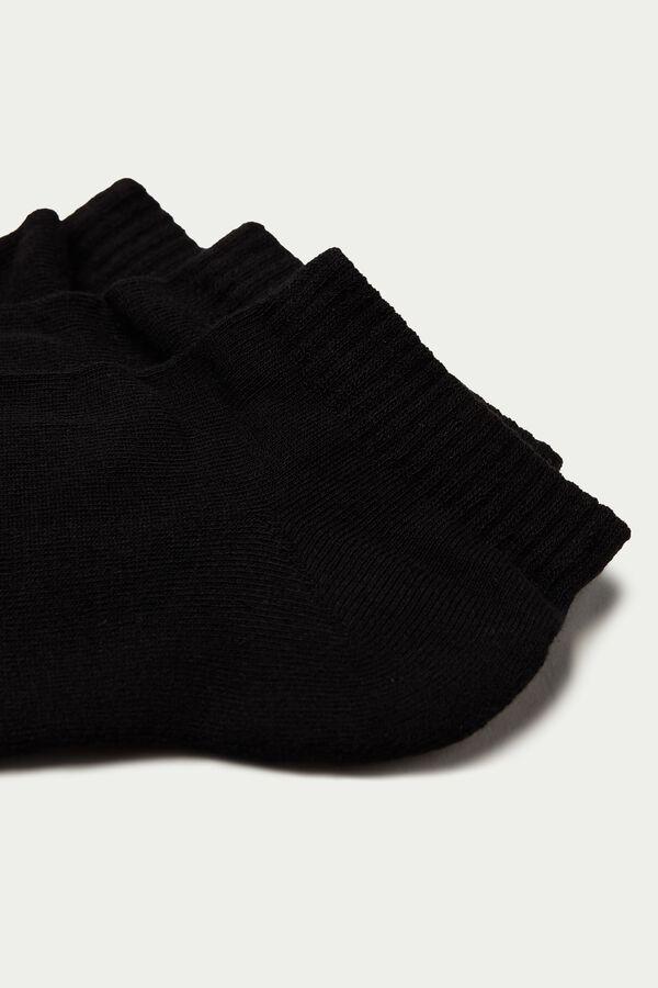 3 x Invisible sport socks in cotton