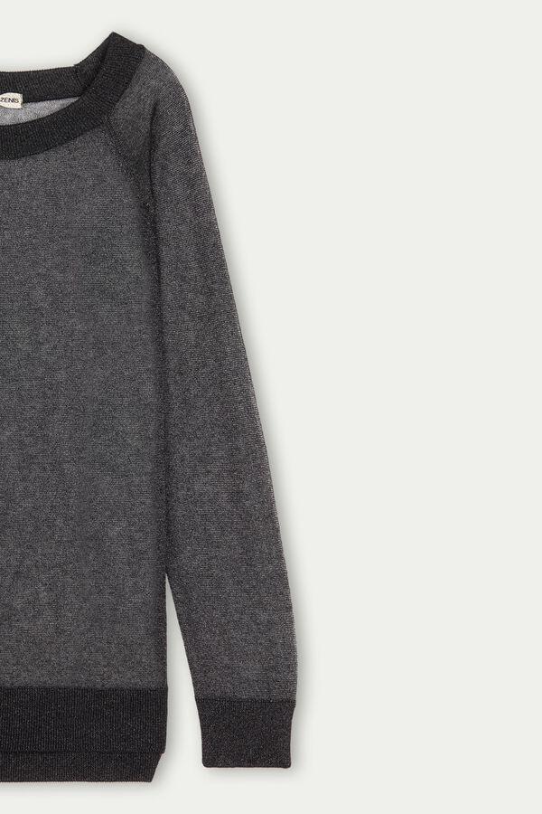 Long Sleeve Ultralight Lurex Top