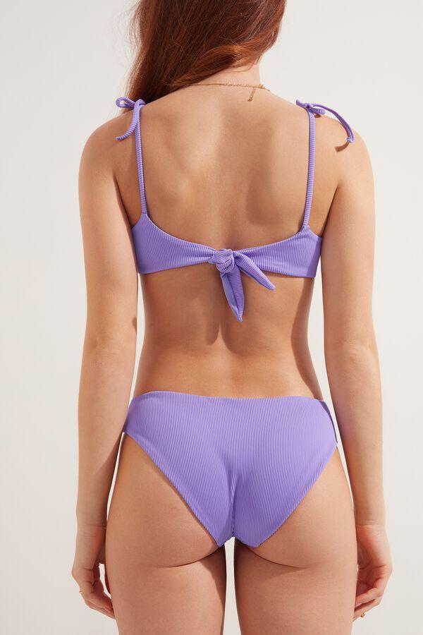 Ribbed Bikini Bottoms