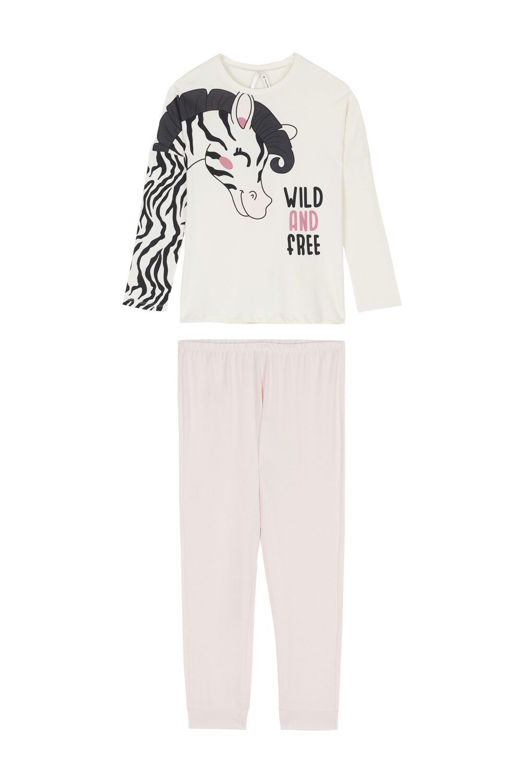 Zebra Long Pyjamas