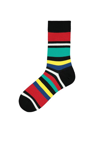 Patterned Short Lightweight Cotton Socks