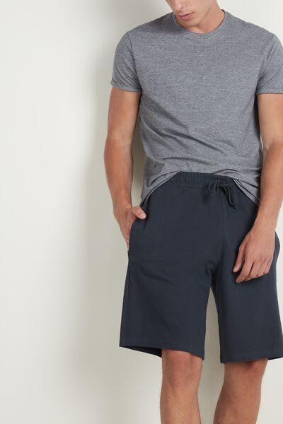 Cotton Piqué Shorts