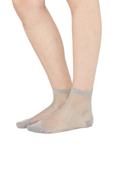 Κοντές Λεπτές Κάλτσες με Γκλίτερ
