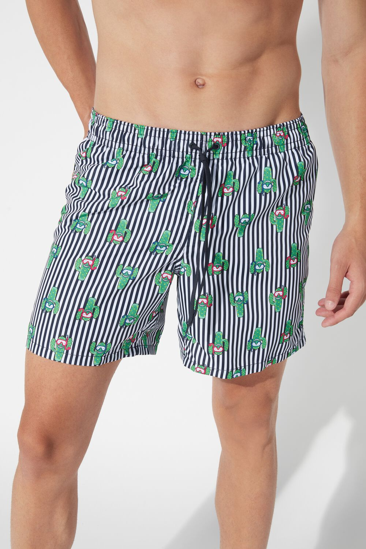 Printed Swimming Shorts