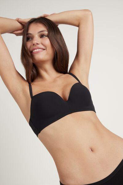 Rome Wireless Microfibre Push-Up Bra
