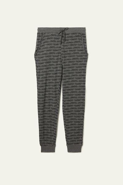 Long Basic Heavy Cotton Pants