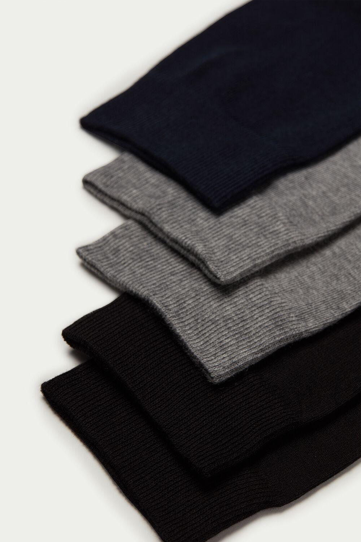 Ľahké Krátke Bavlnené Ponožky, 5 Párov