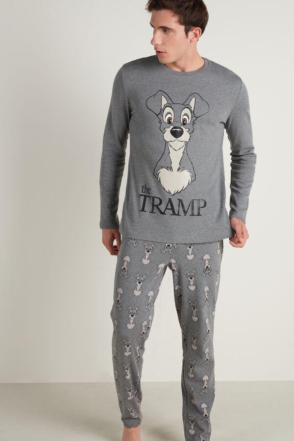 Men's Long Disney Tramp Pajamas