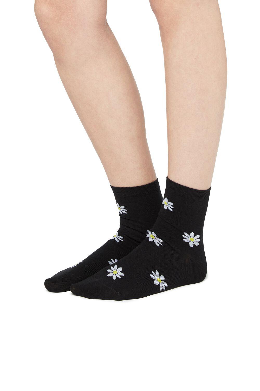Fancy Cotton Crew Socks