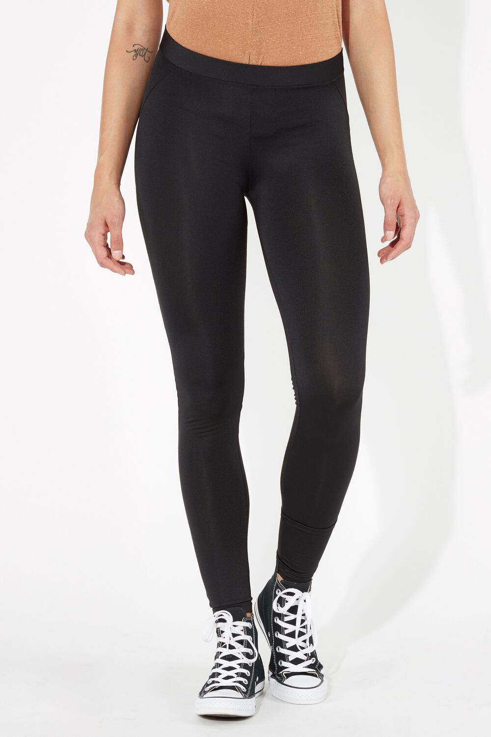 Push-Up Leggings with Slits