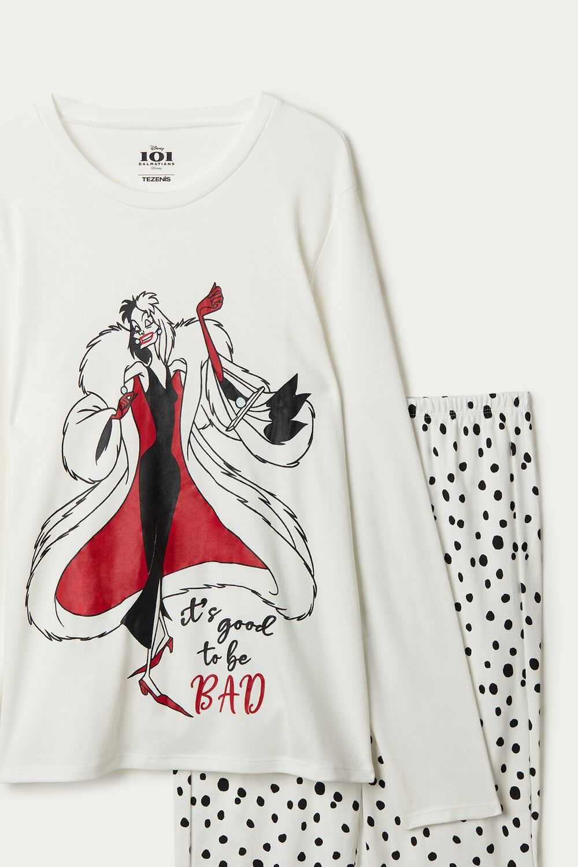 Pyjama Long Coton Disney Cruella