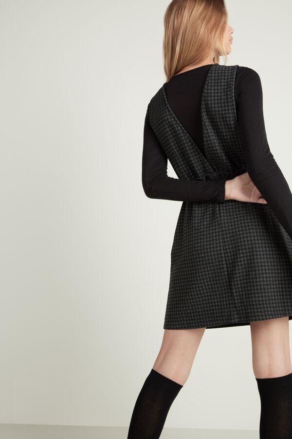 Milano Stitch Pinafore Dress