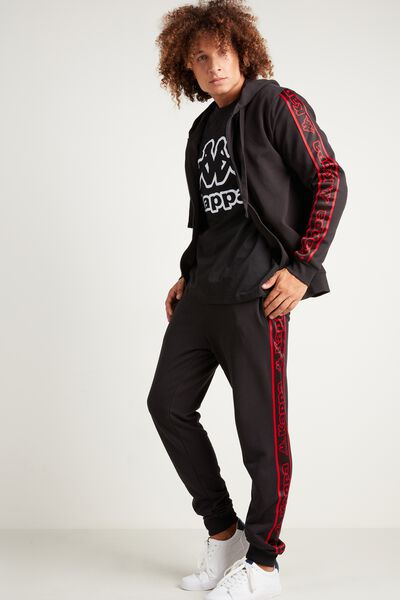 Kappa Logo Long Fleece Trousers