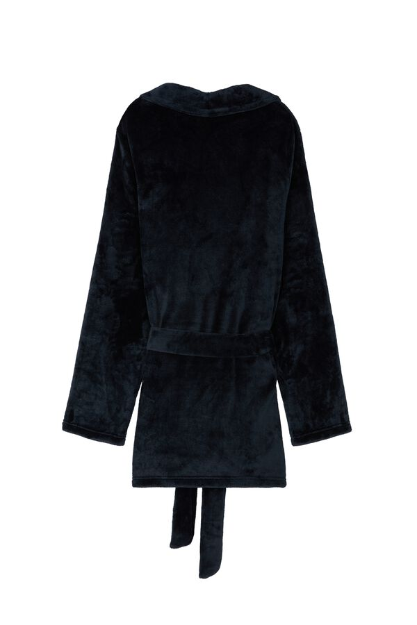 Men's Fleece Bathrobe