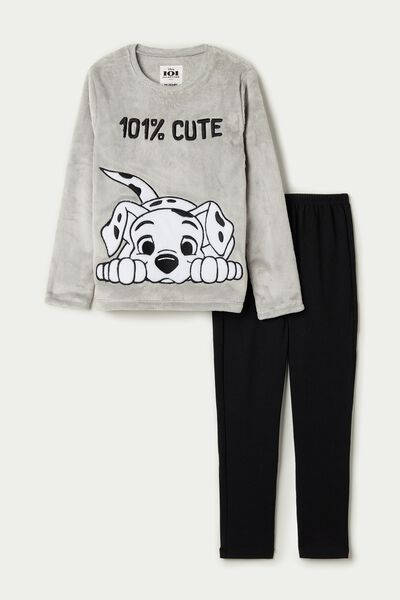 Disney 101 Long Fleece Pyjamas