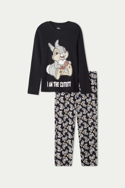 Unisex Long Pyjamas with Disney Bambi Print