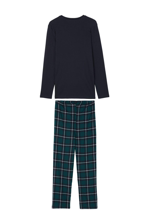 Pyjama Long Homme à Carreaux