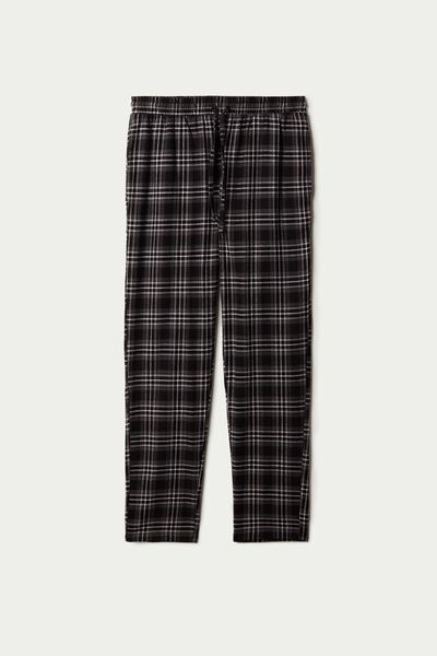 Flannel Trousers with Pockets