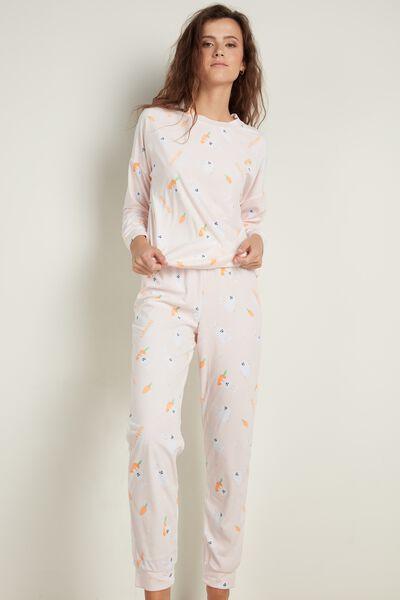 """Pijama Largo de Algodón Mr. Wonderful """"Funny bunny dreams"""""""
