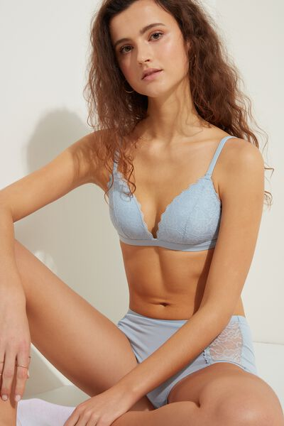Istanbul Lace Triangle Bra