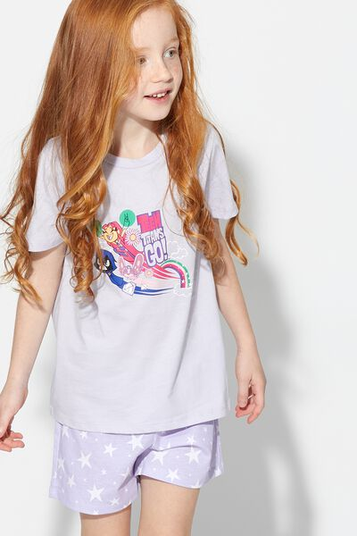 Teen Short Titans Go Stars Pyjamas