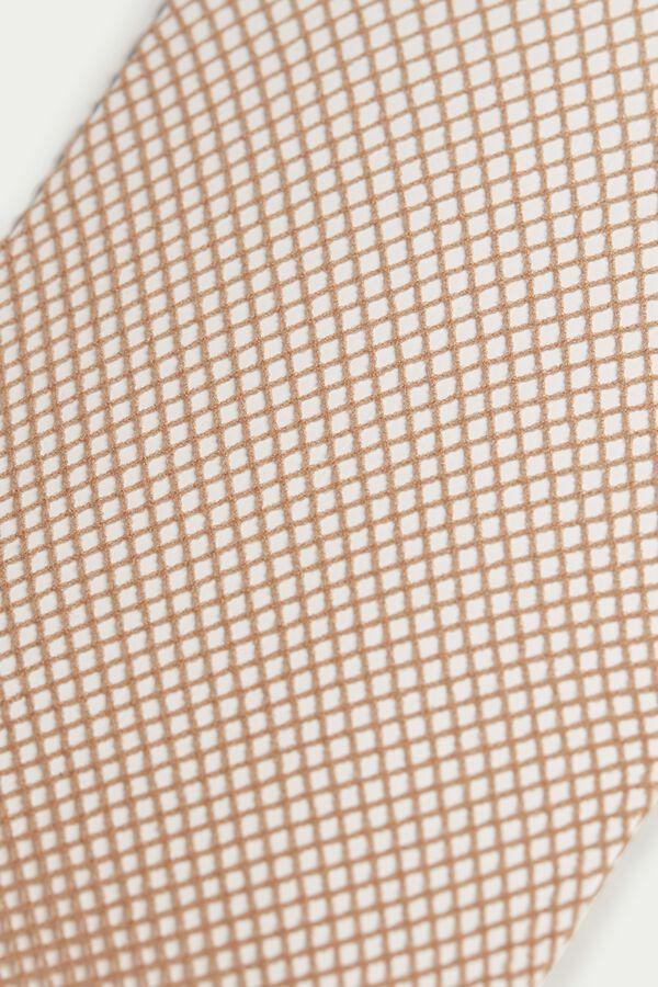 Micro-Fishnet Tights
