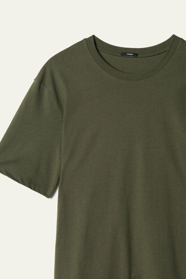 T-shirt Basique Ample en Coton