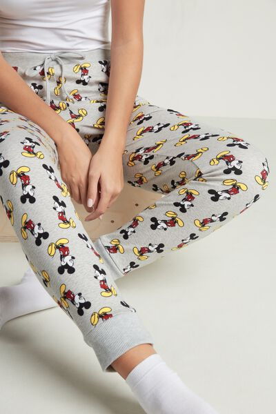 Pantalon Long Coton Épais Mickey Mouse