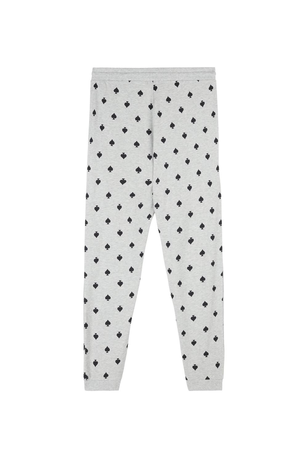 Long Pants with All-Over Card Symbols