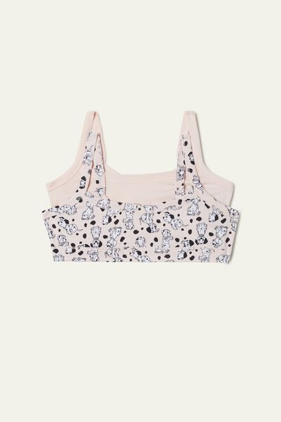 Pack of 2 Mickey Mouse Print Bralets