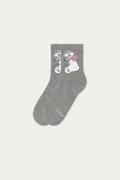 Unisex Aristocats Short Cotton Sports Socks
