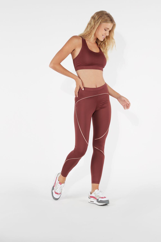 Microfiber Sporty Leggings