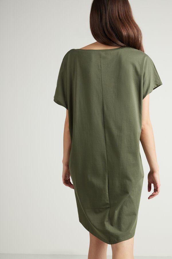 Oversize-Kleid aus Baumwolle
